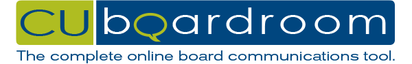 CUboardroom - the complete online board communications tool